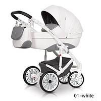 Детская универсальная коляска 2 в 1 Expander Xenon - 01 - white