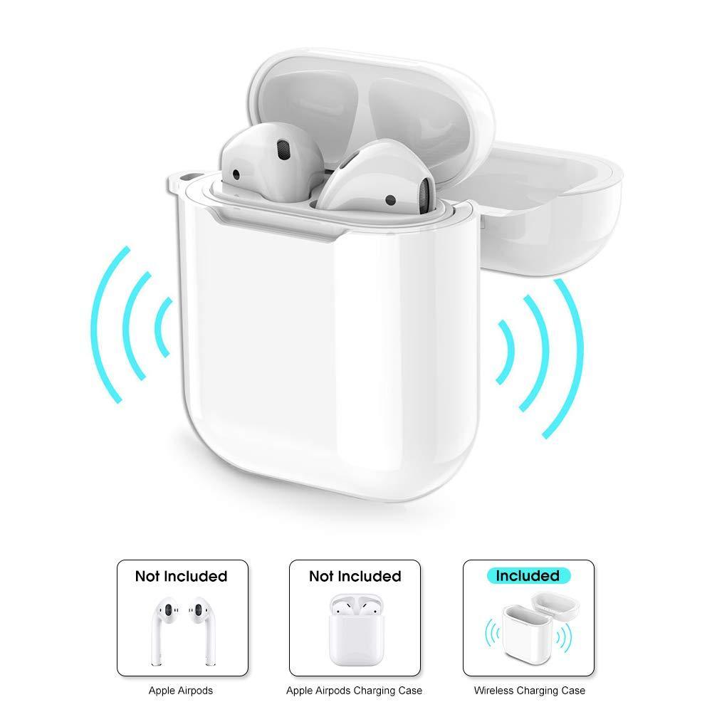 Пластиковий Кейс для Apple AirPods з можливістю бездротової зарядки Захисний чохол Wireless Charging Case
