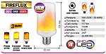 """Светодиодная лампа имитация огня """"FIREFLUX"""", фото 6"""