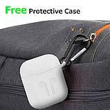 Пластиковий Кейс для Apple AirPods з можливістю бездротової зарядки Захисний чохол Wireless Charging Case, фото 6