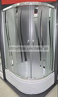 Душевая кабина SANTEH 9021R (90*90*195 см) поддон 40 см хром/ROLA