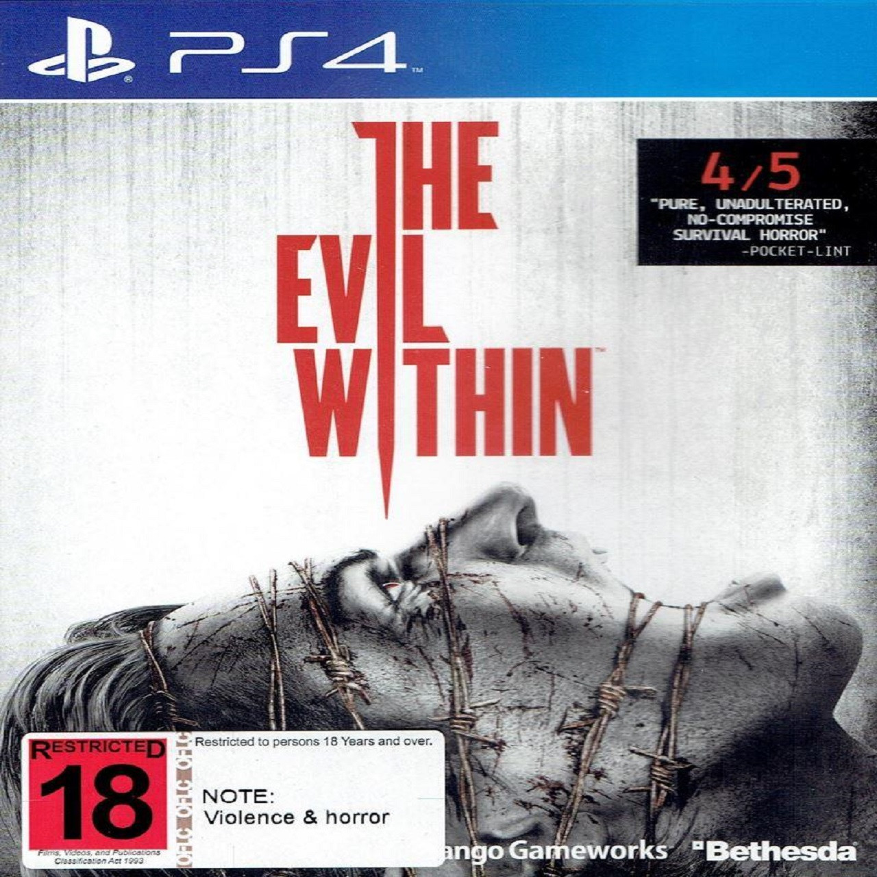 The Evil Within SUB PS4 (Б/В)