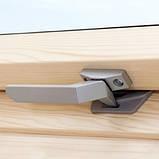 Мансардное окно VELUX Оптима GZR 3050B, ручка снизу, дерево/лак, 55х98, фото 2