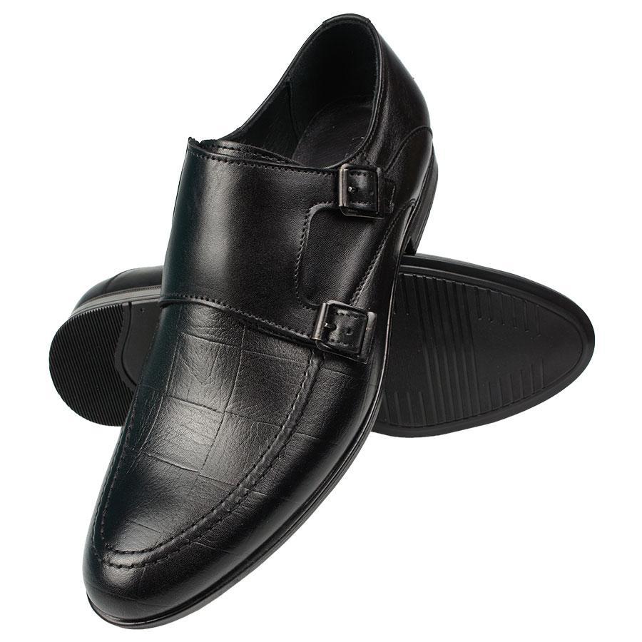 Чоловічі класичні туфлі Tapi B-6339 Gzarny чорного кольору