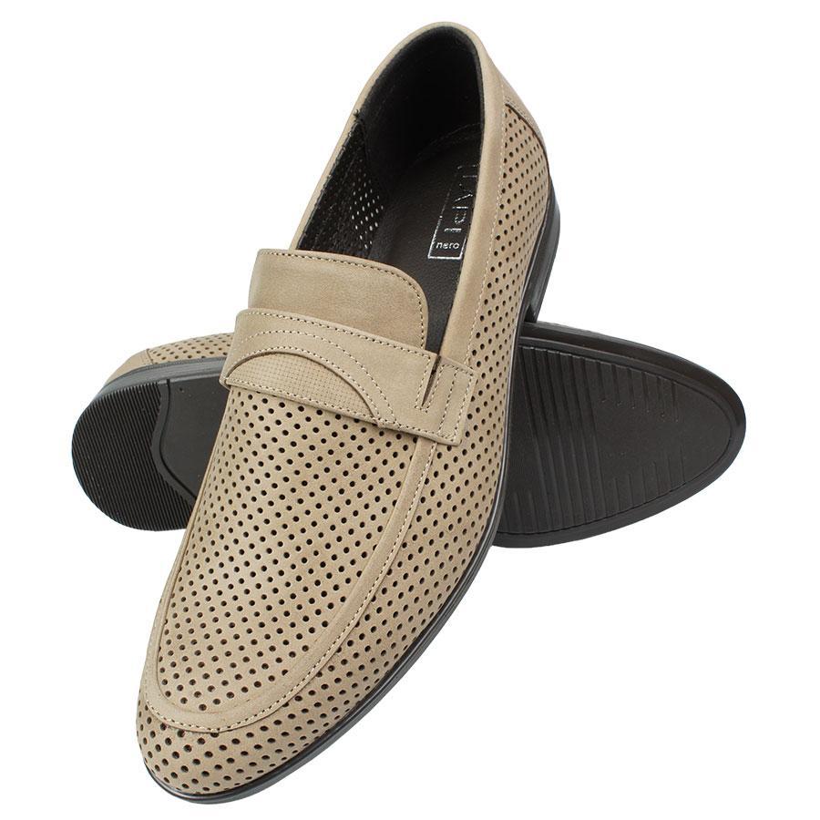 Класичні літні туфлі Tapi F-6434 Bezowy бежевого кольору