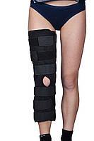 Бандаж (тутор) на коленный сустав Алком 3013, р.1, черный