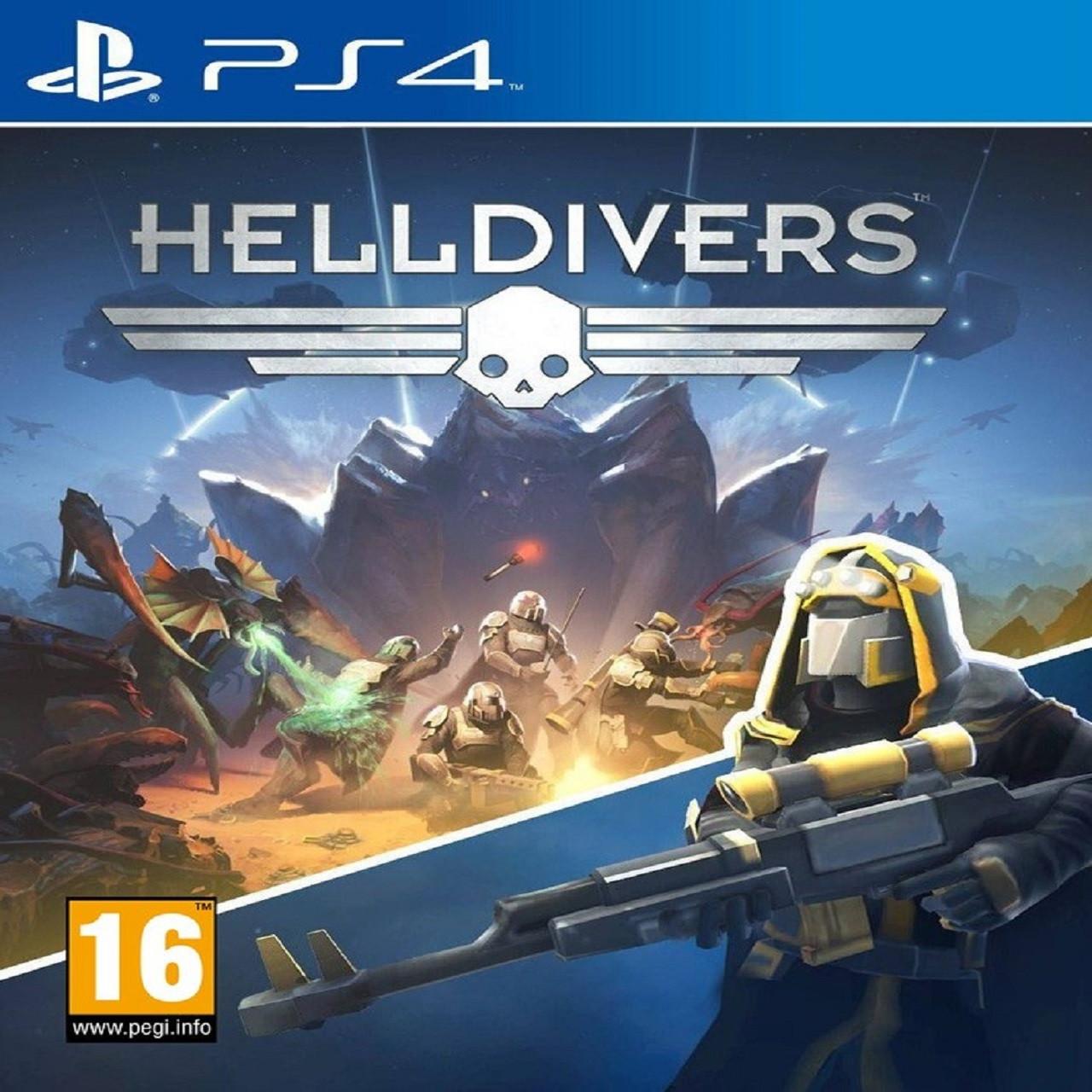 Helldivers PS4 RUS (Б/В)