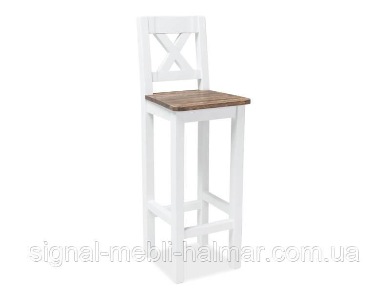 Барный стул Poprad H-1 коричневый воск/сосна платина (Signal)