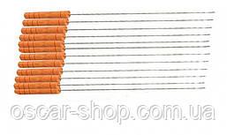 Мини шампура с деревянной ручкой 12 шт