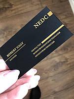Тиснение фольгой на визитках, конвертах,бирках,папках-меню, коробках., фото 1