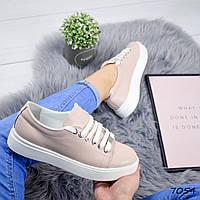 Кеды женские Feel пудра , женская обувь
