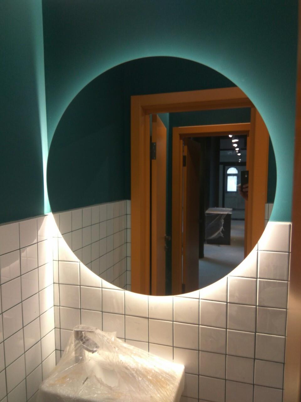 Зеркало круглое с LED подсветкой