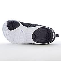 Мужские летние кроссовки Restime PMB19706 BLACK, черные, сетка, фото 3