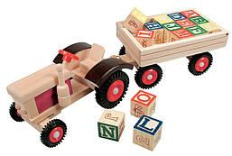 Трактор з алфавітом (англ.) Bіno (82077)