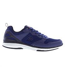 Мужские кроссовки Restime PMB19338 Navy, синие, сетка, фото 2