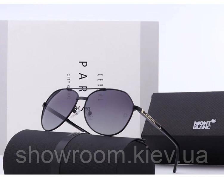 Мужские солнцезащитные очки в стиле Montblanc (713)