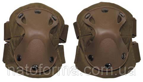 Тактические налокотники Defence (MFH), coyote tan, защита руки
