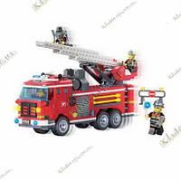 Великий пожежний автомобіль 364 деталі, Brick 904, фото 1