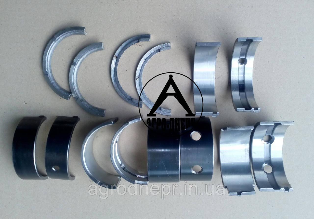 Комплект вкладышей коренных Р1 ø84,50 мна трактор ЮМЗ на двигатель Д-48, Д-65 А23.01-95 Р1 Тамбов