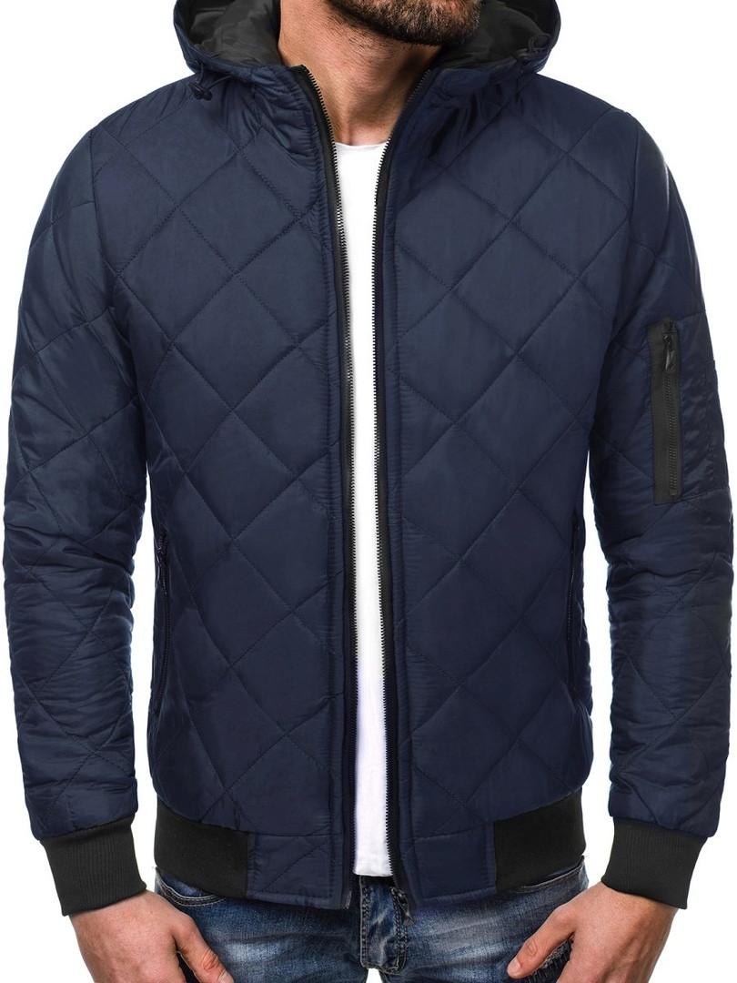 Куртка мужская синий (бомбер). Куртка чоловіча. ТОП КАЧЕСТВО!!!, фото 1
