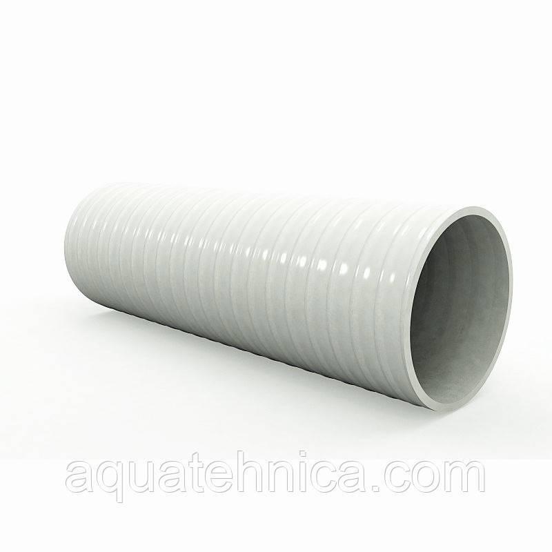 Труба ПВХ гибкая под клей 50 мм для бассейнов