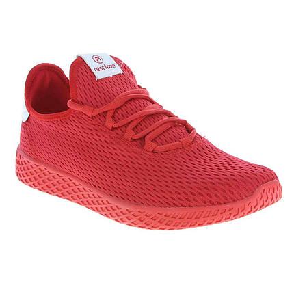 Летние кроссовки Restime PWL19169 Red, сетка, фото 2