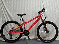 """Велосипед гірський Azimut Hiland 26"""" рама 15"""", червоний, фото 1"""