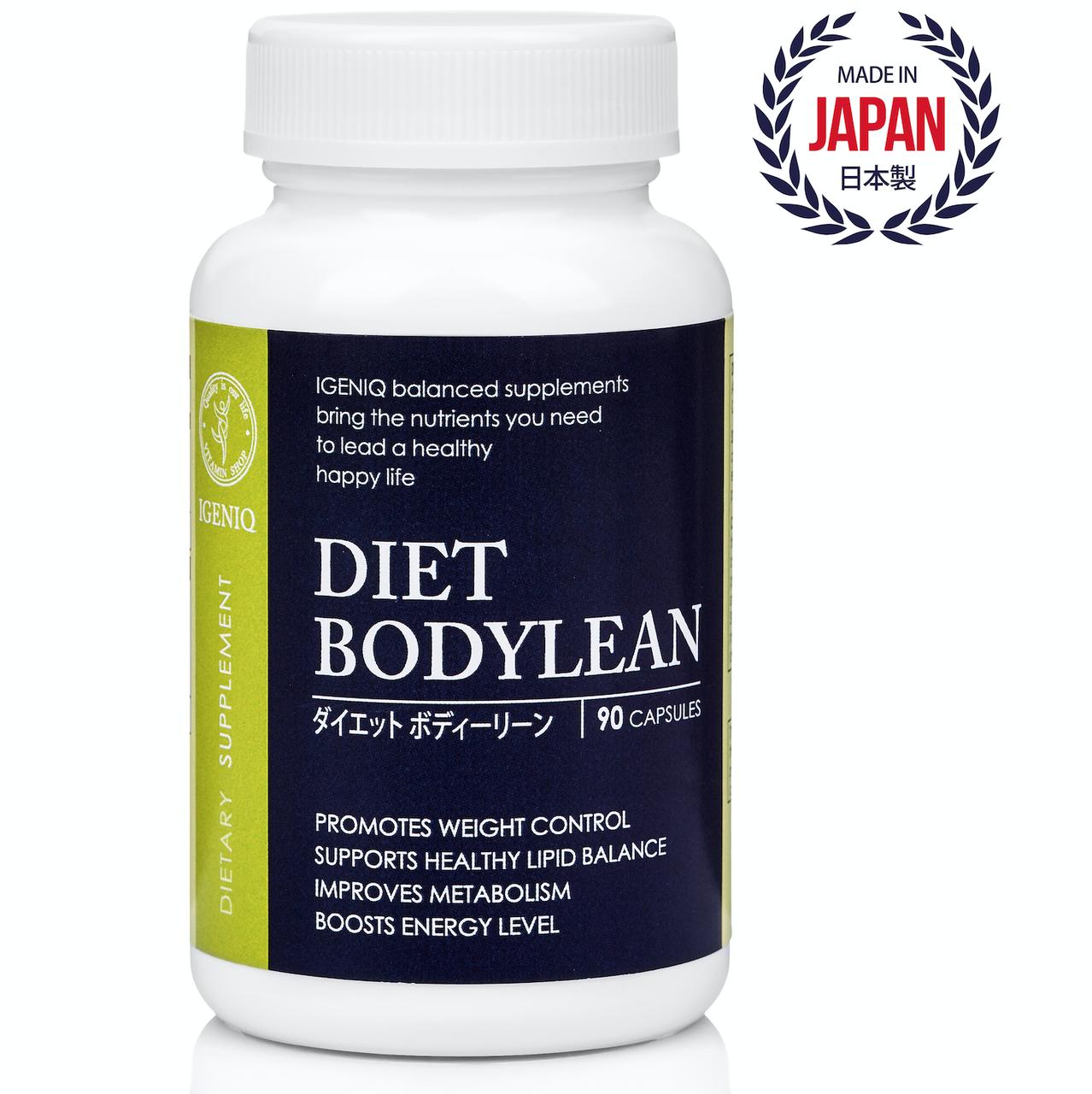 Снижение веса, Сжигание жиров и калорий  Дает Бодилин IGENIQ  Япония