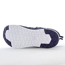 Мужские синие кроссовки сетка Restime UMB19123 NAVY, фото 3