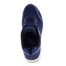 Мужские синие кроссовки Restime UMB 19355 NAVY, сетка, фото 2