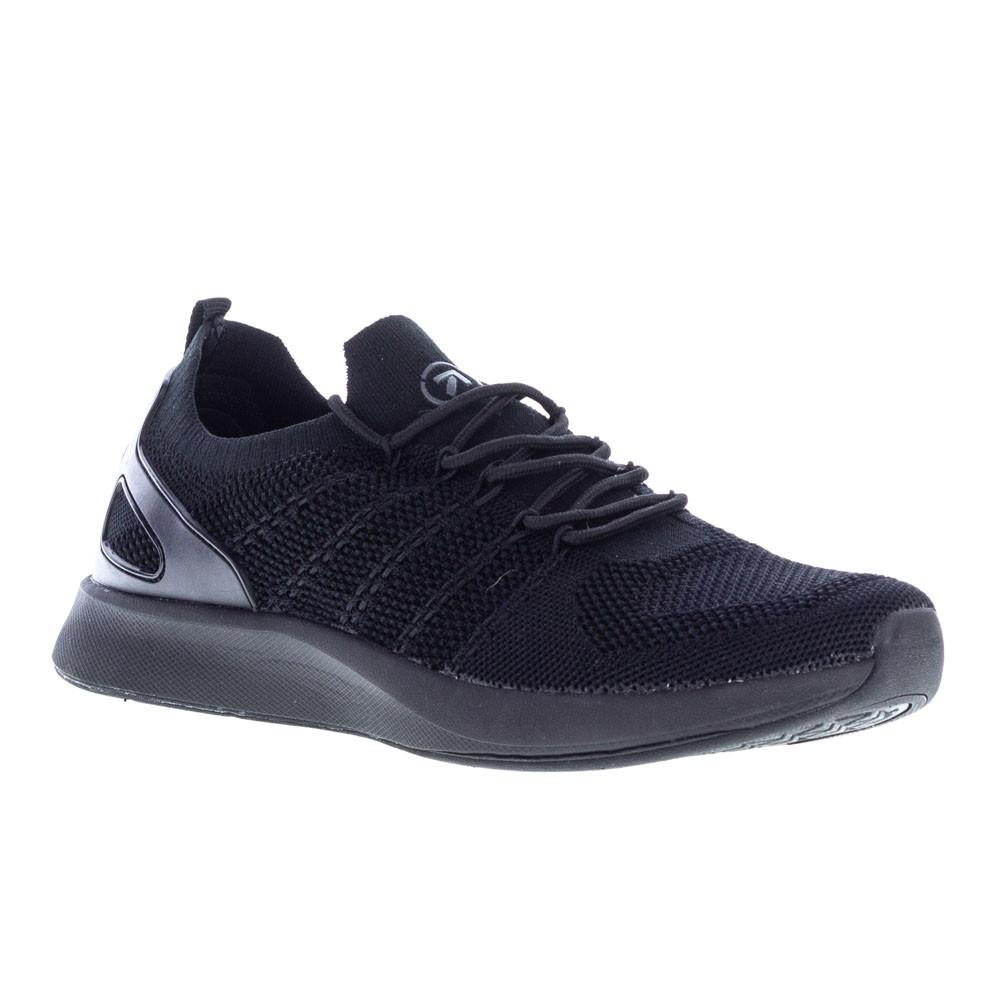 Мужские черные кроссовки сетка Restime UMB19622, BLACK
