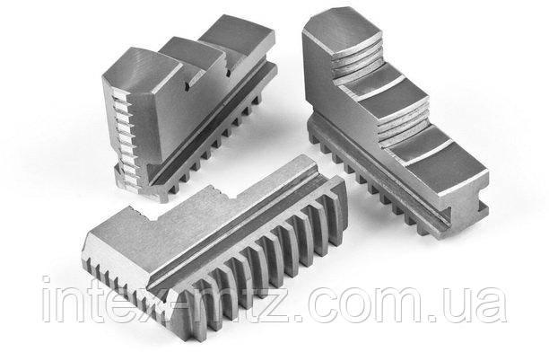 Кулачки прямые к патрону токарному 250 мм., шаг 9 мм. (3-250.35.11.04)
