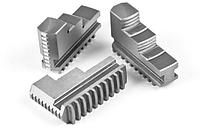 Кулачки прямые к патрону токарному 250 мм., шаг 9 мм. (3-250.35.11.04), фото 1