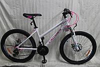 """Велосипед горный алюминиевый Crosser INFINITY 26"""" рама 15"""", белый, фото 1"""
