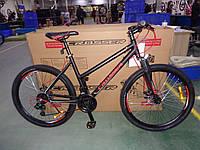 """Велосипед горный алюминиевый Crosser INFINITY 26"""" рама 18"""", черно-красный, фото 1"""