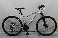 """Велосипед Crosser ANGEL 26"""" рама 16,5"""", белый, горный алюминиевый"""