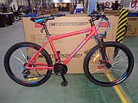 """Велосипед гірський азимут Crosser SPORT 26"""" алюмінієва рама 17"""", червоний"""