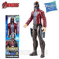 Звездный Лорд Герой Marvel 30 см. оригинал Hasbro STAR LORD Стражи Галактики