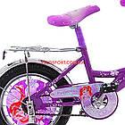 Дитячий велосипед Mustang Принцеса 12 дюймів фіолетовий, фото 4