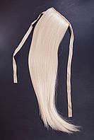 Шиньоны на ленте №1.цвет классический блонд