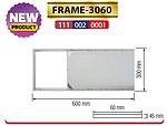 FRAME-3060 рамка накладна 300х600 мм для панелі ZODIAK-24, фото 2