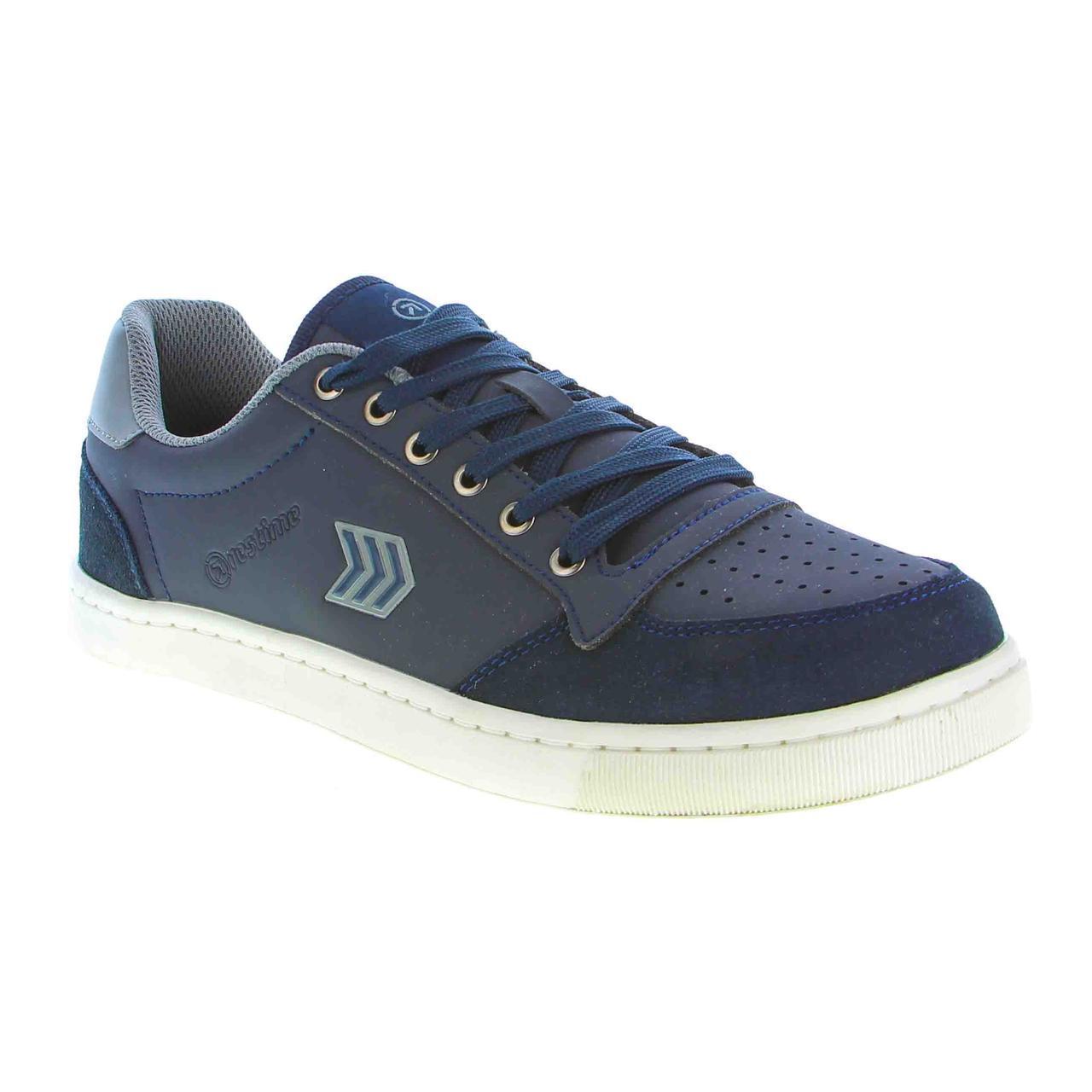 Мужские синие кроссовки Restime PMB19336 Navy