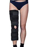 Бандаж (тутор) на коленный сустав Алком 3013, р.3, черный