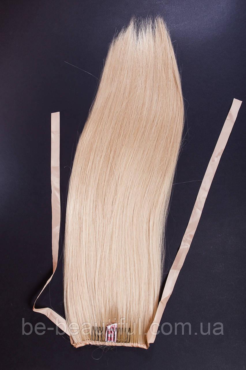 Шиньоны на ленте №1 цвет блонд карамельный