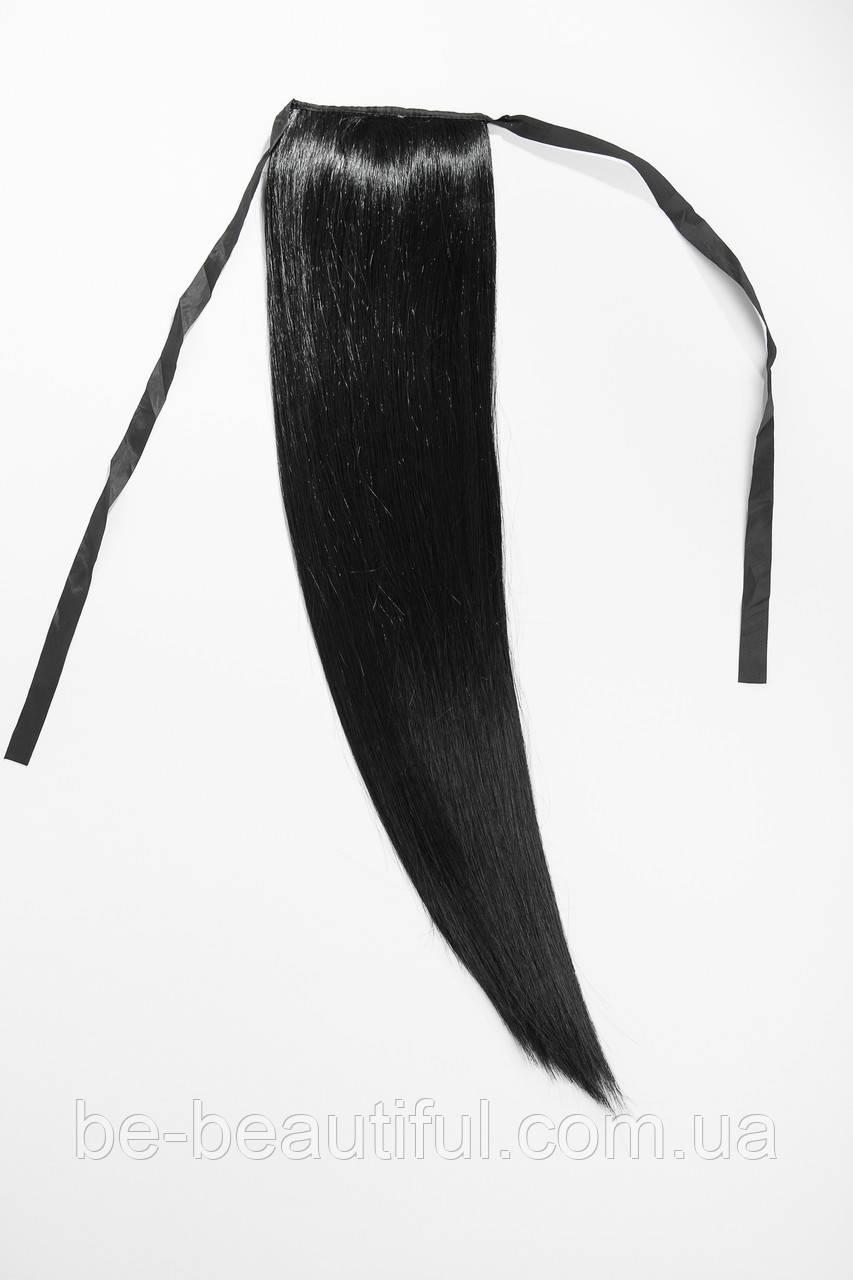 Шиньоны на ленте №1 цвет черный