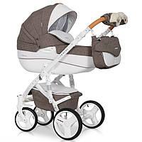 Детская универсальная коляска 2 в 1 Riko Brano Luxe 01 Mocca