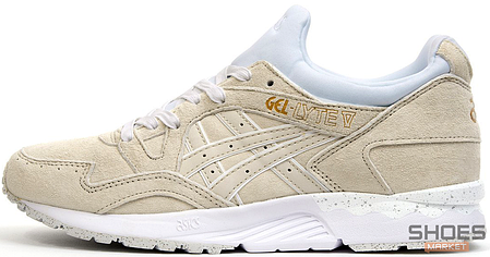 Женские кроссовки Asics Gel Lyte V Rose Gold Pack White H600L 0101, Асикс Гель Лайт 5, фото 2