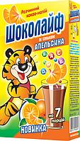 Какао-напиток со вкусом  Апельсина ТМ Шоколайф, 140 г