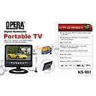 """Портативний телевізор без Т2 міні-телевізор Opera TV 901 екран 9,5"""", фото 4"""