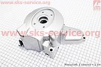 Крышка двигателя левая для статора магнето на 6 катушек на мопед ACTIVE